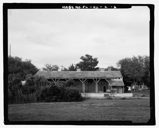 Eglin Air Force Base, Motor Repair Shop, Northwest of Flager Road, Chisk Lane & southern edge of Weekly Bayou, Valparaiso, Okaloosa County, FL