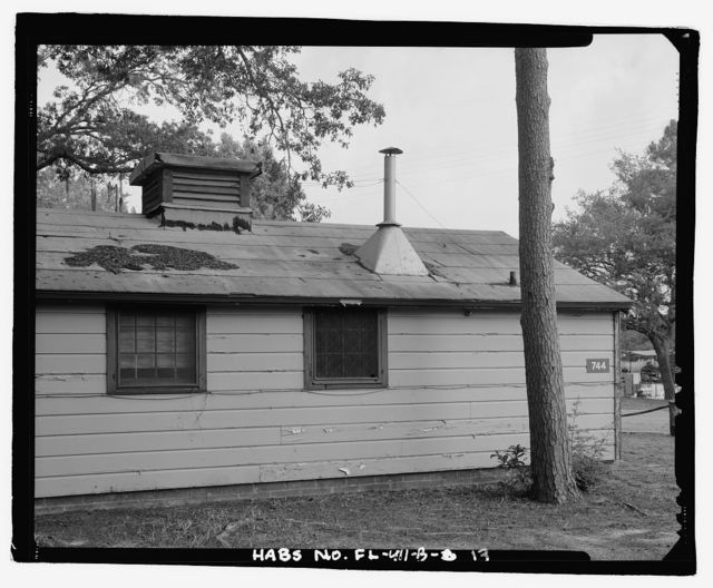 Eglin Air Force Base, Storehouse & Company Administration, Southeast of Flager Road, Nassau Lane, & southern edge of Weekly Bayou, Valparaiso, Okaloosa County, FL