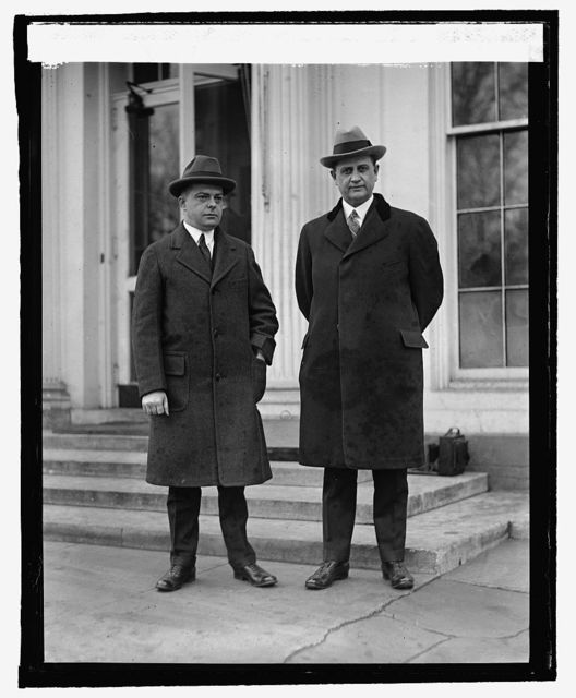 E.K. Bartley and Everett Sanders, 3/2/25