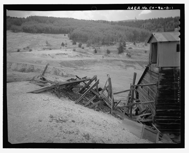 El Paso Lode, Ore House, 50 yards east of Colorado State Highway 67 in Poverty Gulch, Cripple Creek, Teller County, CO