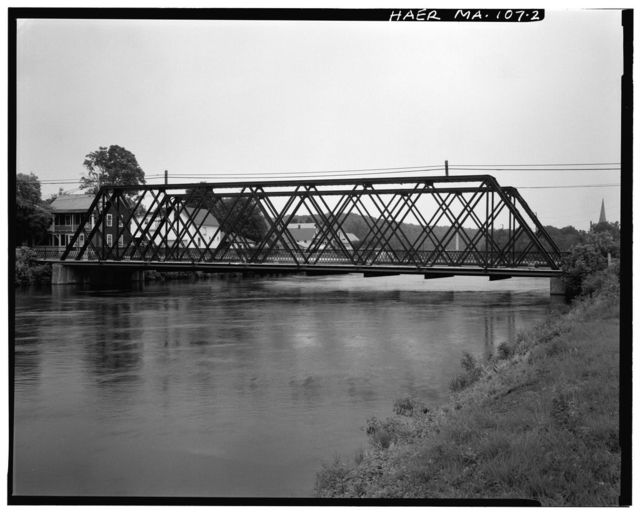 Eleventh Street Bridge, Spanning Turners Fall Canal on Eleventh Street, Montague, Franklin County, MA
