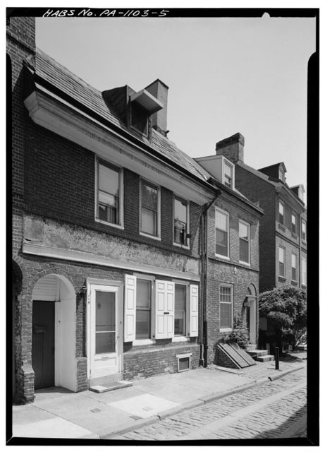 Elfreth's Alley (Houses), Philadelphia, Philadelphia County, PA
