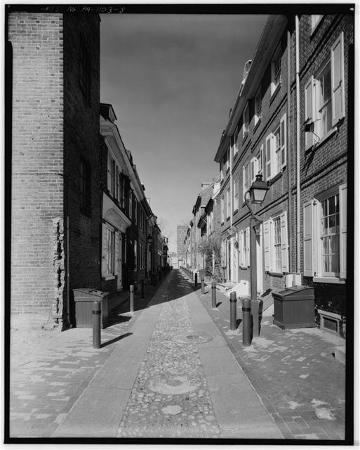 Elfreth's Alley (Houses), Philadelphia, Philadelphia County, PA