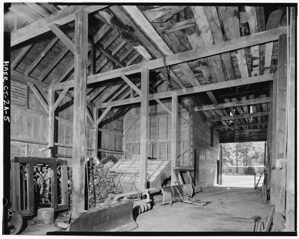 Eli Whitney Armory, Barn, Whitney Avenue, Hamden, New Haven County, CT