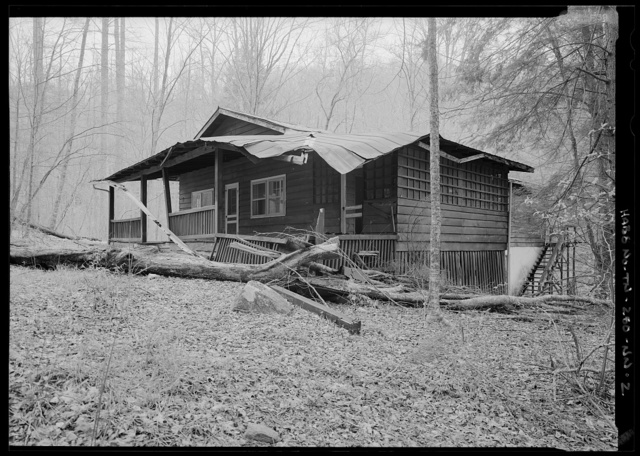 Elkmont Historic District, Society Hill, Dudley Cabin, Jakes Creek Trail, Gatlinburg, Sevier County, TN