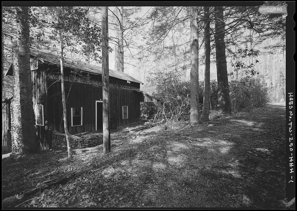 Elkmont Historic District, Wonderland Club, May Cabin, Wonderland Hotel Access Road, Gatlinburg, Sevier County, TN