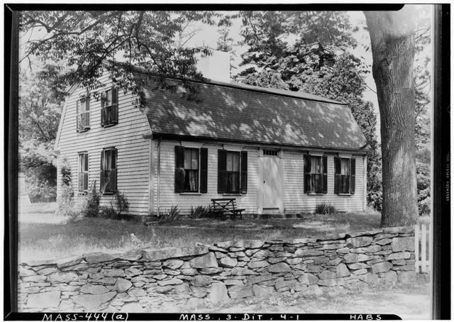 Ellery House, Dighton, Bristol County, MA