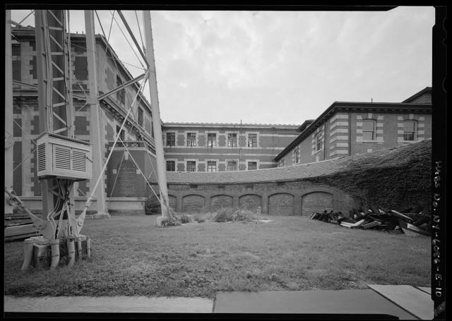 Ellis Island, Baggage & Dormitory Building, New York Harbor, New York, New York County, NY