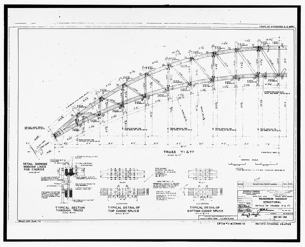 Ellsworth Air Force Base, Readiness Hangar, Kenny Road, southeast corner of interstction with G Avenue, Blackhawk, Meade County, SD