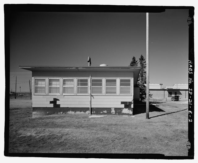 Ellsworth Air Force Base, Rushmore Air Force Station, Security Central Control Building, Quesada Drive, Blackhawk, Meade County, SD