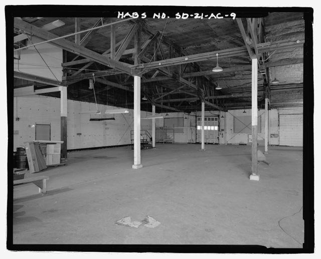 Ellsworth Air Force Base, Rushmore Airforce Station, A.C. Warehouse Miscellaneous, 841 White Street, Blackhawk, Meade County, SD