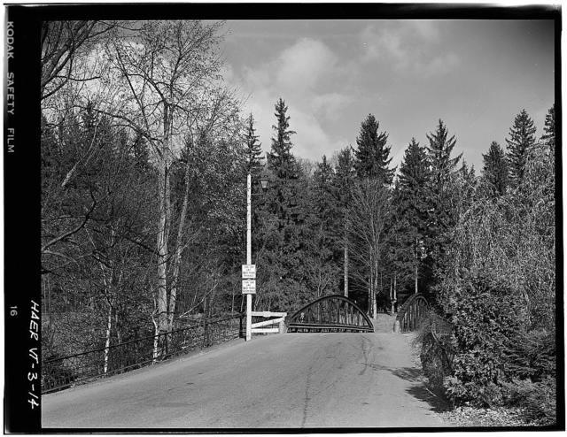 Elm Street Bridge, Spanning Ottauquechee River, Woodstock, Windsor County, VT