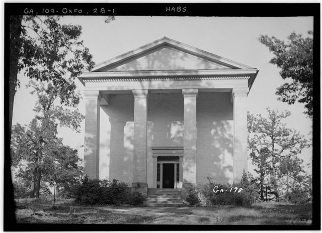 Emory College, Few Literary Society Hall, Oxford, Newton County, GA