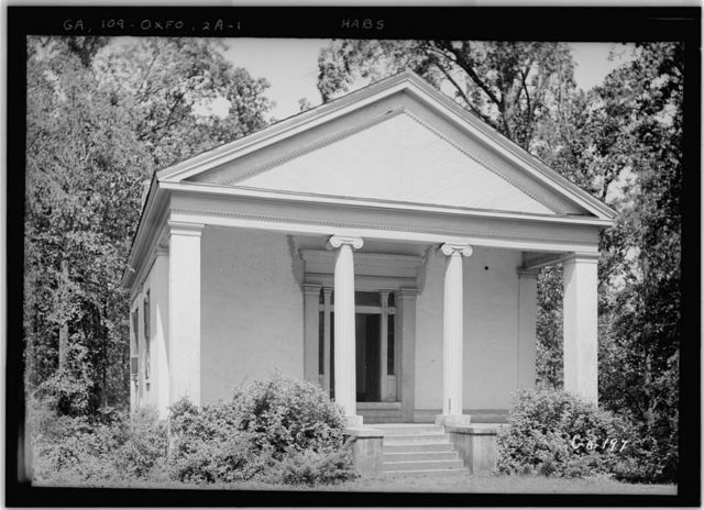 Emory College, Phi Gamma Literary Society Hall, Oxford, Newton County, GA