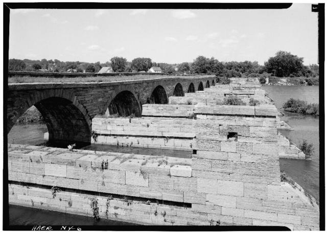 Erie Canal (Enlarged), Schoharie Creek Aqueduct, Spanning Schoharie Creek, Fort Hunter, Montgomery County, NY
