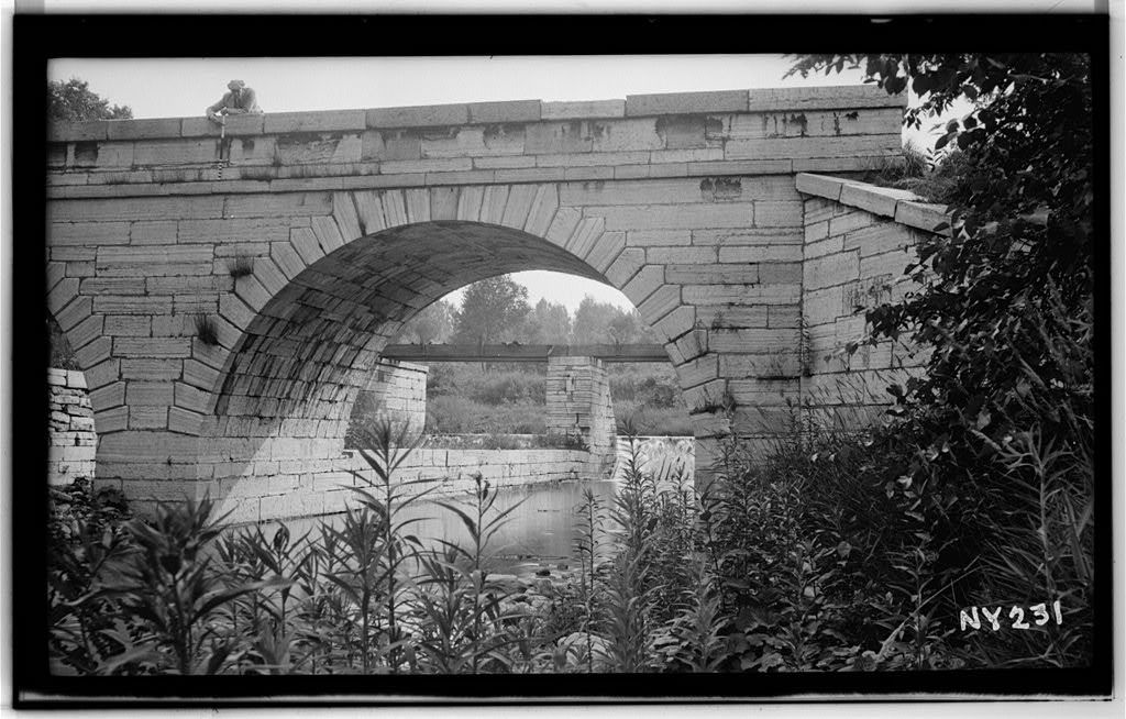 Erie Canal Viaduct, Moyer Creek Crossing, Frankfort, Herkimer County, NY