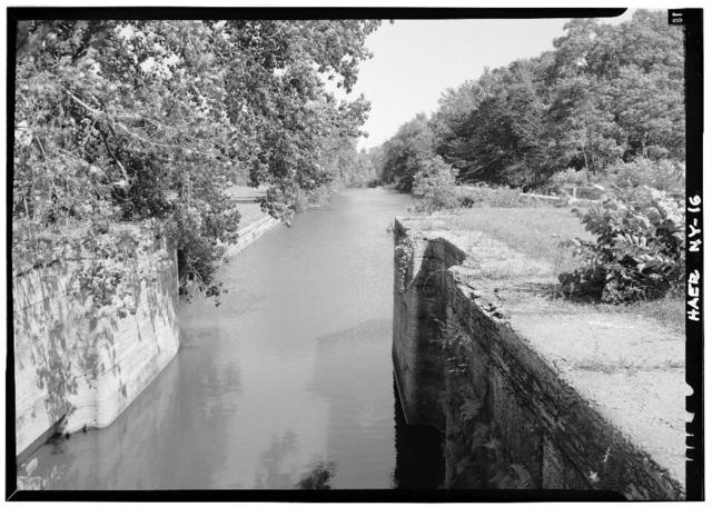 Erie Canal, Yankee Hill Lock Number 28, Schoharie Creek Aqueduct Vicinity, Fort Hunter, Montgomery County, NY