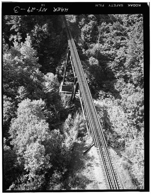 Erie Railway, Clear Creek Viaduct, Spanning Clear Creek at U.S. Route 62, Lawtons, Erie County, NY