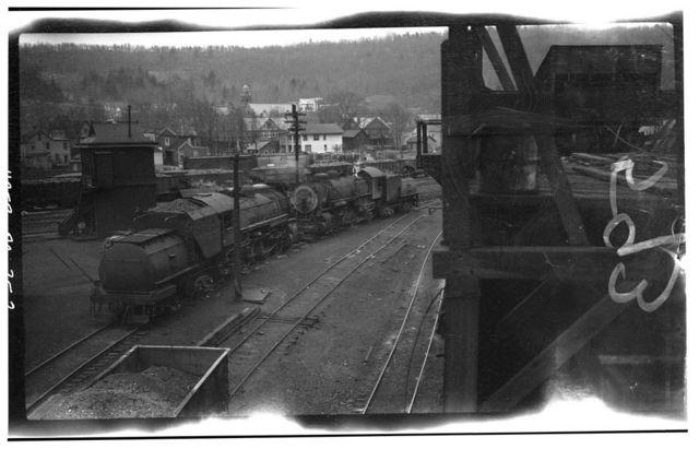 Erie Railway, Hawley Coaling Station, Hawley, Wayne County, PA