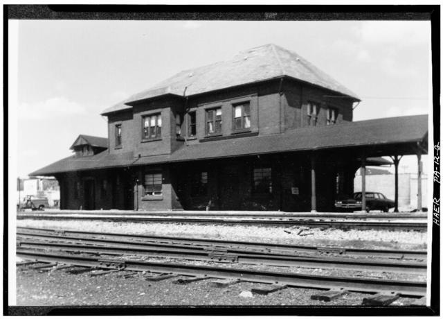 Erie Railway, Meadville Station, West side of McHenry Street at West end of Chestnut Street, Meadville, Crawford County, PA