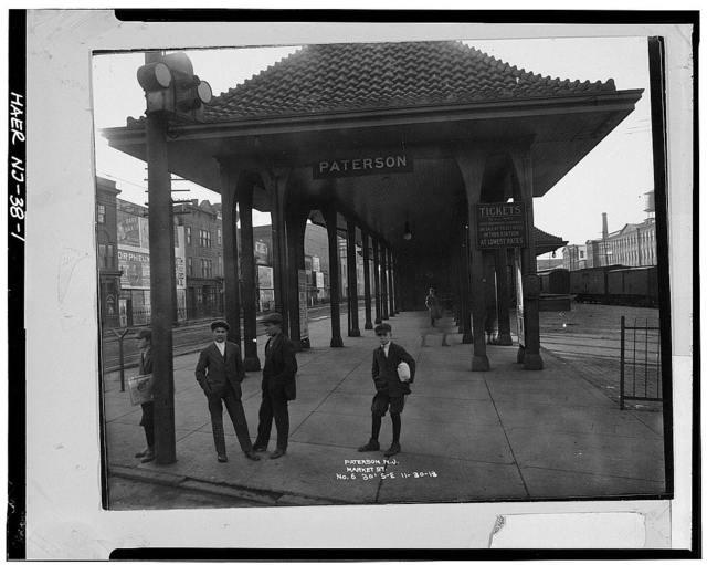 Erie Railway, Paterson Station, Paterson, Passaic County, NJ
