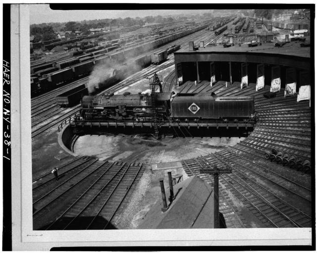 Erie Railway, Salamanca Turntable, Atlantic Street, Salamanca, Cattaraugus County, NY