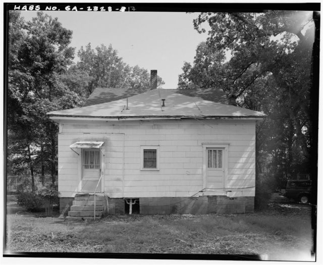 Ernest E. Hart House, 4828 West Fayetteville Road, College Park, Fulton County, GA