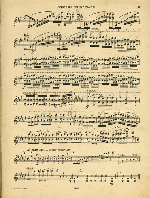 Ernst, H. W. Concerto for Violin and Orchestra, op. 23