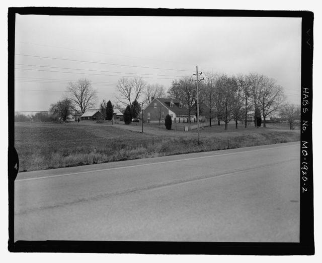 Erwin Richterkessing Farm, 4540 I-70 North Service Road, Saint Peters, St. Charles County, MO