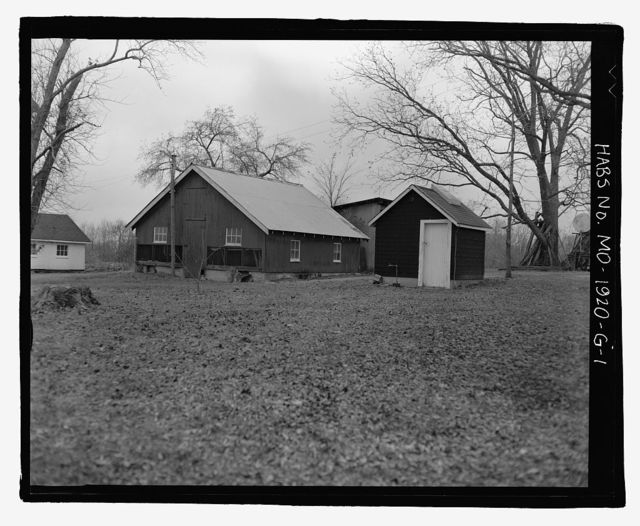 Erwin Richterkessing Farm, Chicken Coop, 4540 I-70 North Service Road, Saint Peters, St. Charles County, MO