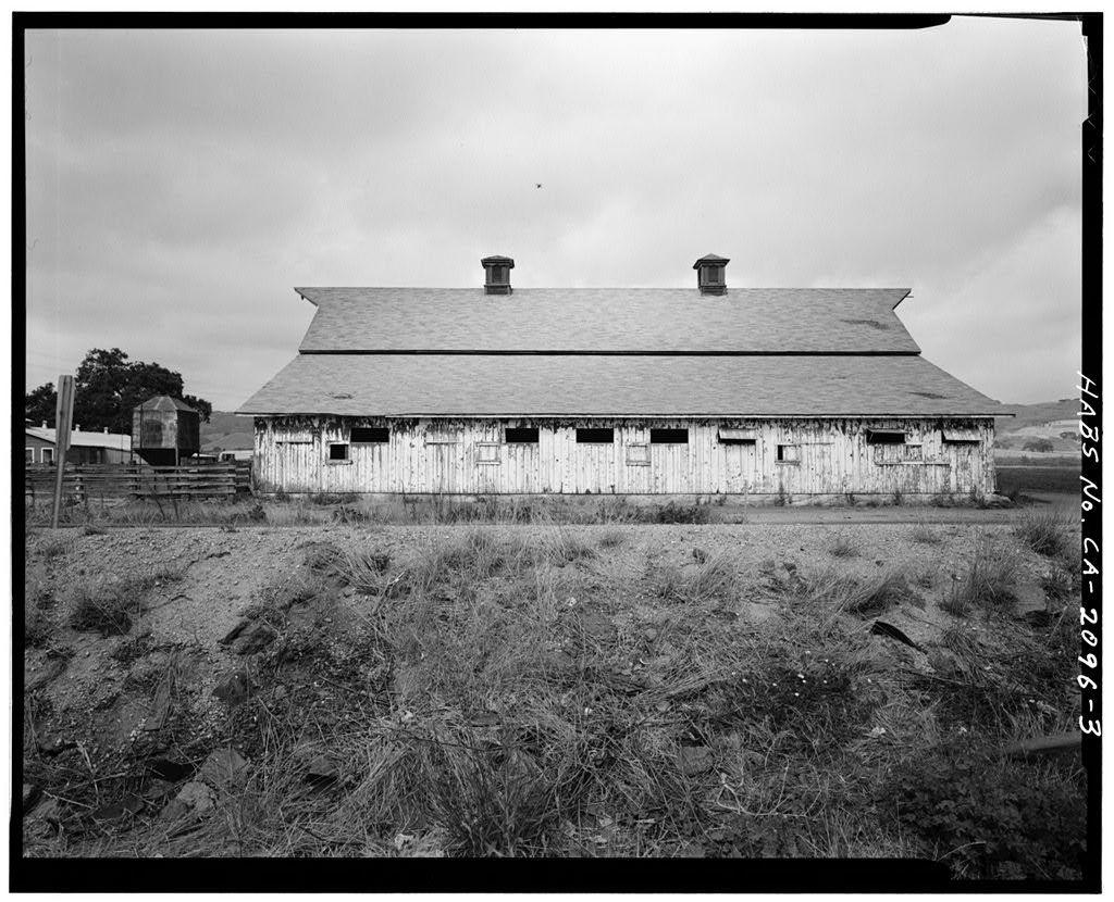Eschenburg-Silva Cow Barn, 3665 Pacheco Pass Road (State Highway 152), Gilroy, Santa Clara County, CA