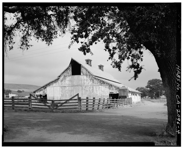 Eschenburg-Silva Cow Barn, 3665 Pacheco Pass Road (State Highway 152), Gilroy, Santa Clara County, CA
