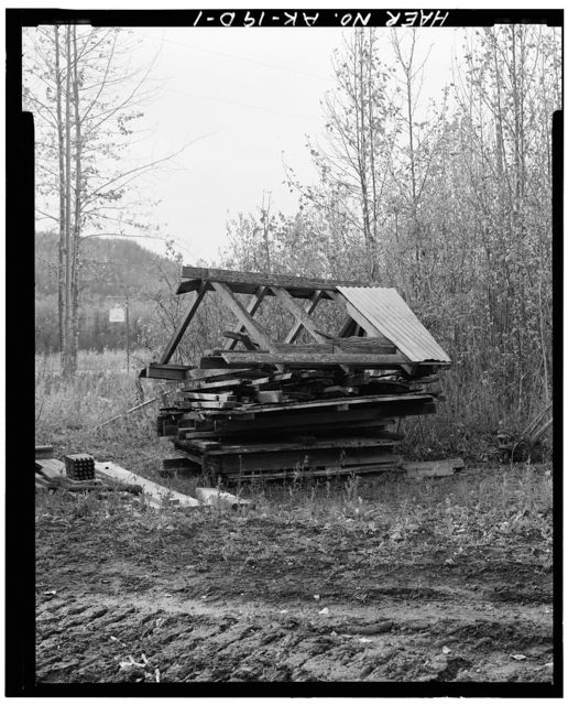 Eska Coal Mine, Roof Parts, Wishbone Hill, Sutton, Matanuska-Susitna Borough, AK