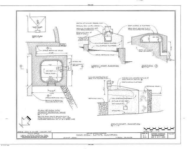 Estate Annaberg, Bake Oven, Adrian, St. John, VI