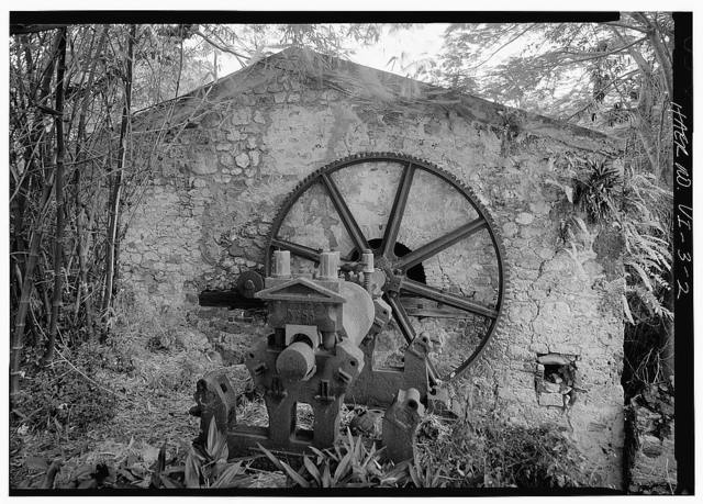 Estate Rust-Op-Twist, Steam Engine & Cane Mill, Christiansted, St. Croix, VI