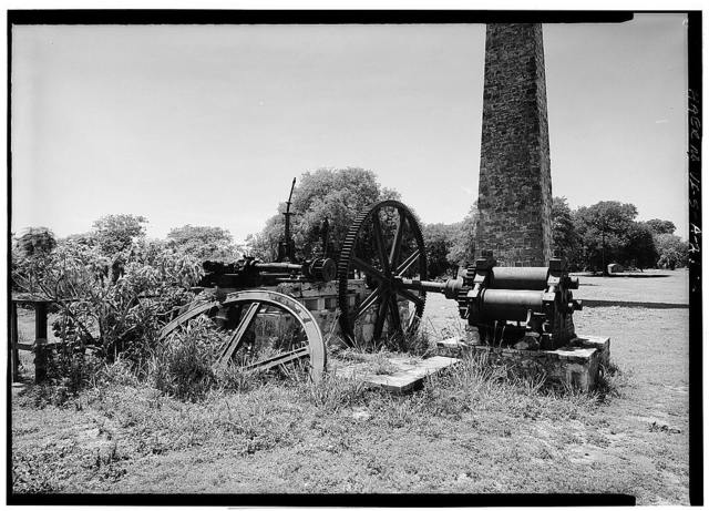 Estate Whim, Horizontal Steam Engine, Frederiksted vicinity, Frederiksted, St. Croix, VI
