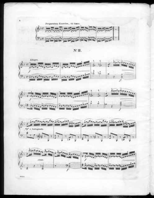 Etuden fur piano, op. 66, Book 1