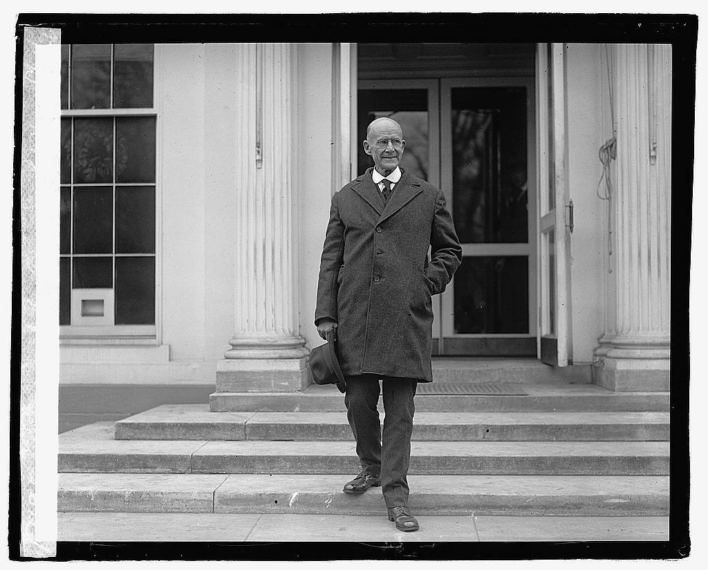 Eugene Debs leaving White House, 12/26/21