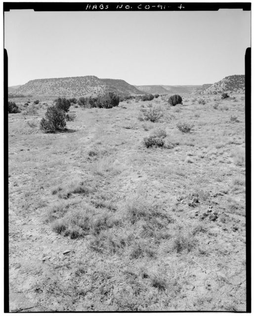 Eugene Rourke Ranch, 19 miles east of U.S. Highway 350, Model, Las Animas County, CO