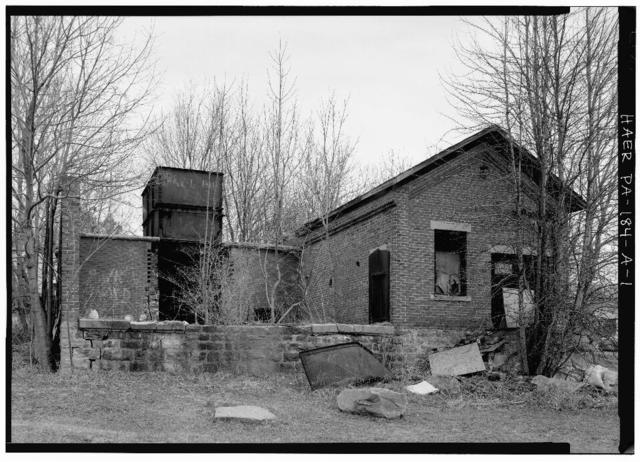 Eureka No. 40, Fan House, East of State Route 56, north of Little Paint Creek, Scalp Level, Cambria County, PA