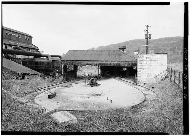 Eureka No. 40, Tipple & Cleaning Plant, East of State Route 56, north of Little Paint Creek, Scalp Level, Cambria County, PA