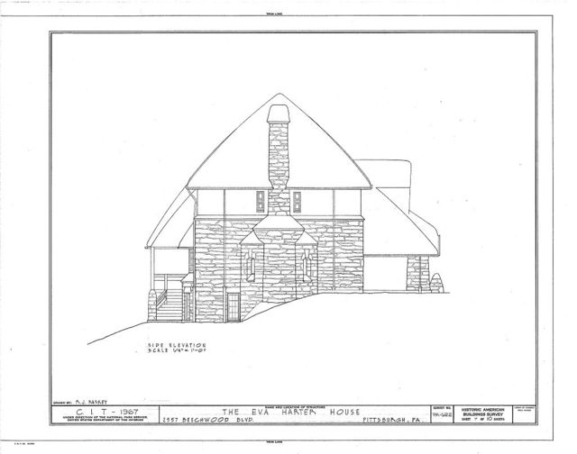 Eva Harter House, 2557 Beechwood Boulevard, Pittsburgh, Allegheny County, PA