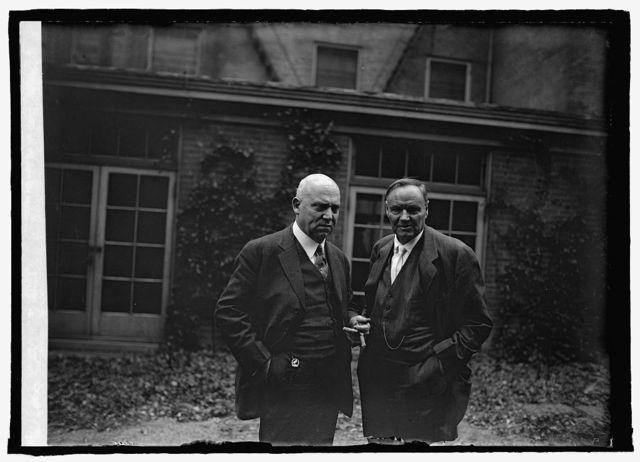 Ex. Sen. Stanley & Clarence Darrow, 3/14/25