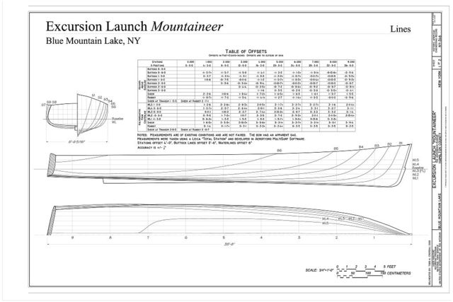Excursion Launch Mountaineer, Adirondack Museum, Blue Mountain Lake, Hamilton County, NY