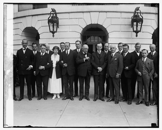 Executive heads of national advertising agencies at W.H., 10/29/24