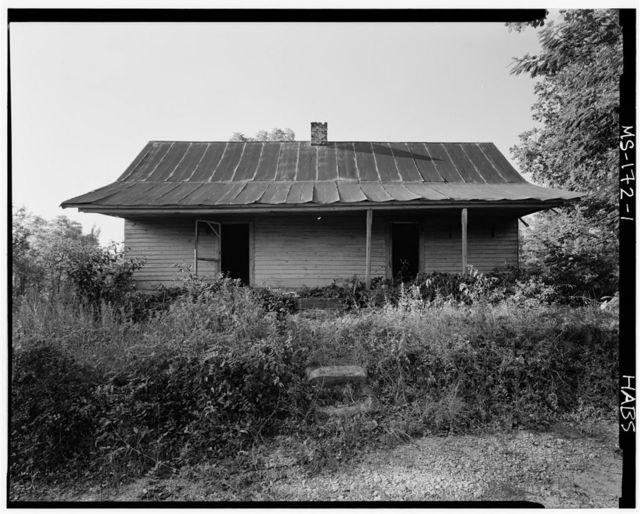 Ezra Searcy House, West of Prentiss-Tishimingo County Line, New Site, Prentiss County, MS