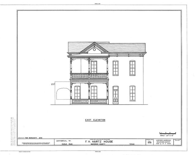F. H. Hartz House, Commercial Street, Eagle Pass, Maverick County, TX