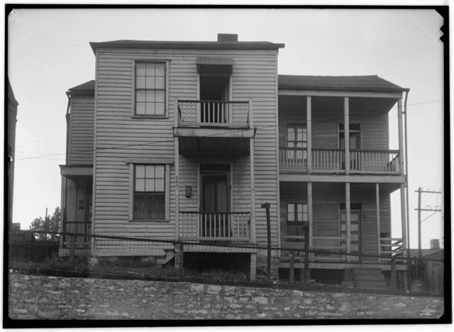 F. Reller House, 821 Destreham Street, Saint Louis, Independent City, MO