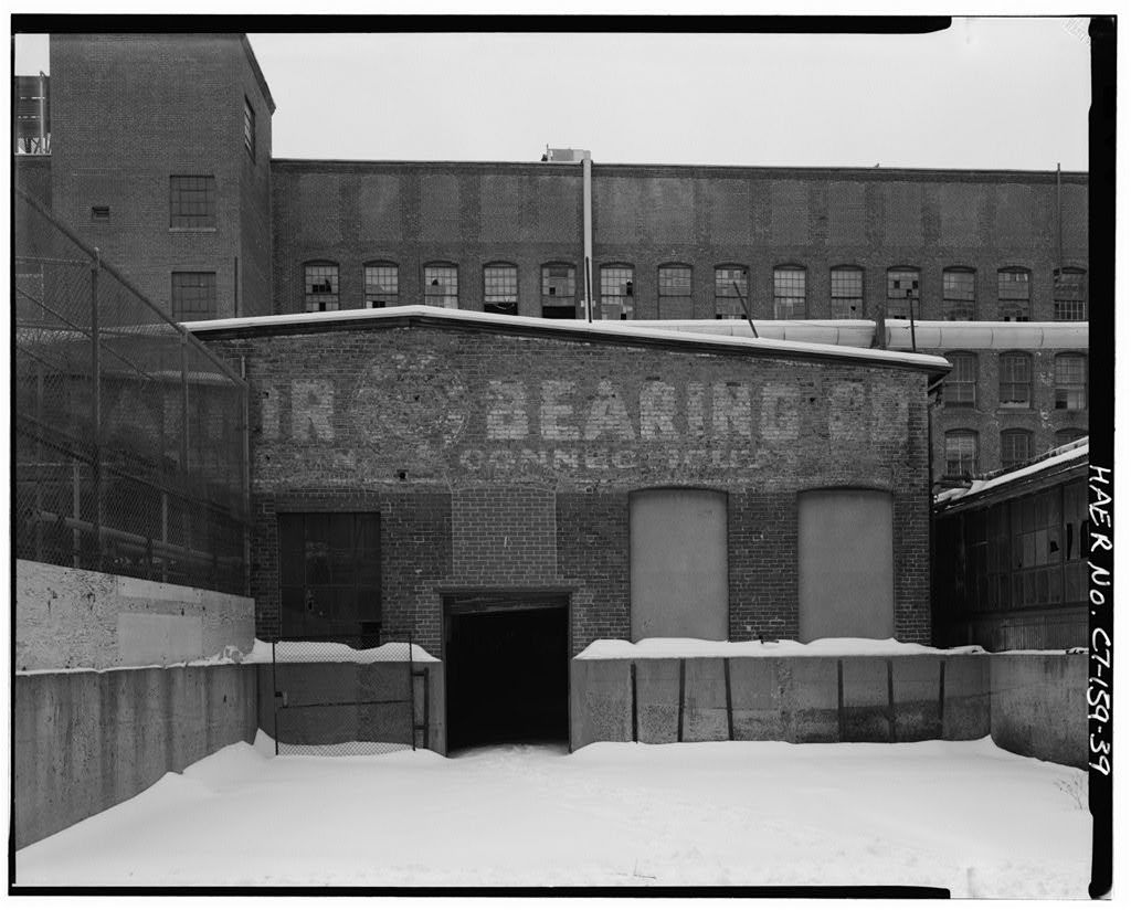 Fafnir Bearing Plant, Bounded on North side by Myrtle Street, on South side by Orange Street, on East side by Booth Street & on West side by Grove Street, New Britain, Hartford County, CT