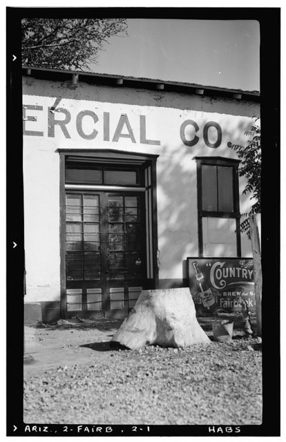 Fairbank Commercial Company Building, Fairbank (historical), Cochise County, AZ